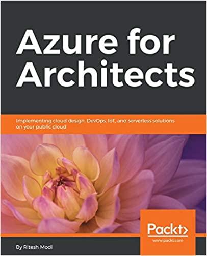 Azure for Architects - Ritesh Modi